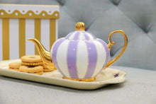 Load image into Gallery viewer, lavender two cup teapot majestea & co - alwaysspecialgifts.com