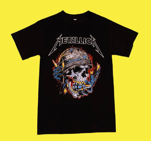 metallica rock band disarm tshirt - alwaysspecialgifts.com