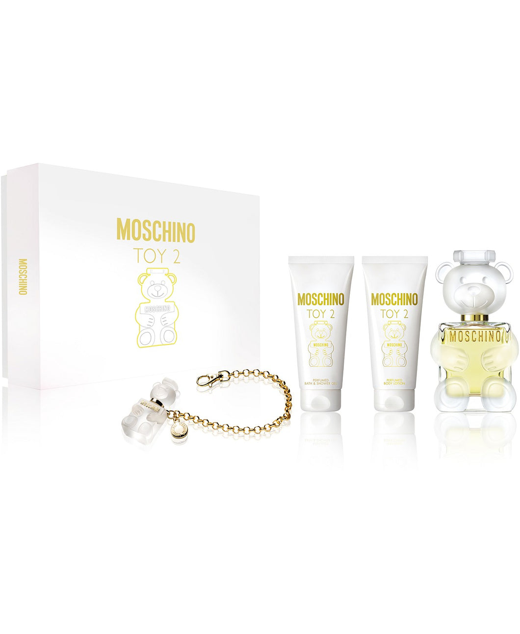 moschino toy 2 gift set 4 pcs eau de parfum 3.4oz for womens - alwaysspecialgifts.com