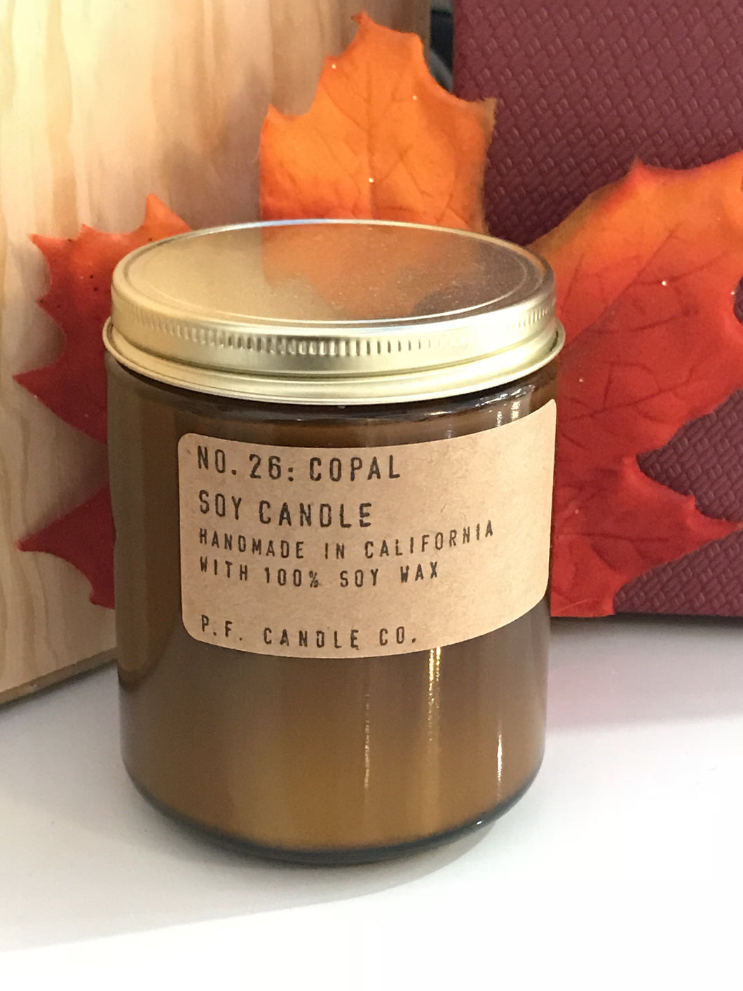 No. 26 : Copal Soy Wax  7.2 oz    p.f candle