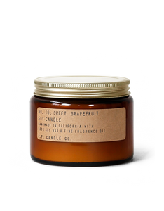 No.10  Sweet  Grapefruit Soy Candle   14 oz      p.f Candle