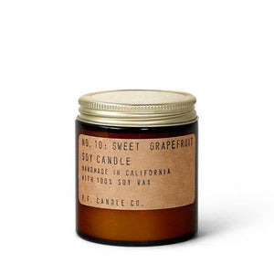 No.10  Sweet  Grapefruit Soy Candle   7.2 oz      p.f Candle
