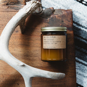 No. 29 : Piñon Soy Wax Candle 7.2 oz  . p.f candle