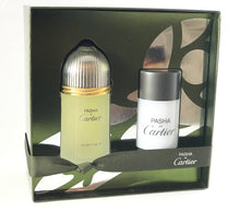 Load image into Gallery viewer, pasha de  cartier  gift set  2 pcs  Eau  de  toilette  3.3oz   100ml , 2.5oz stick -alwaysspecialgifts.com