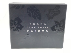 Prada Men's Luna Rossa Carbon Gift Set 2 pcs Eau de Toilette 3.4oz,  for men's