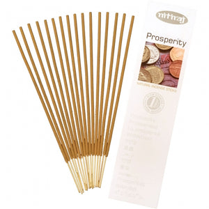 prosperity natural incense 16 sticks - alwaysspecialgifts.com