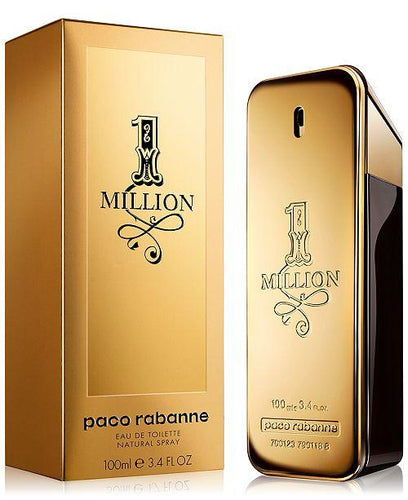 Paco Rabanne Men's 1 Million Eau de Toilette Spray, 3.4 oz.-alwaysspecialgifts.com