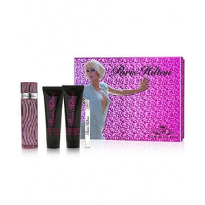 paris hilton gift set 4 pcs eau de parfum 3.4oz for womans - alwaysspecialgifts.com
