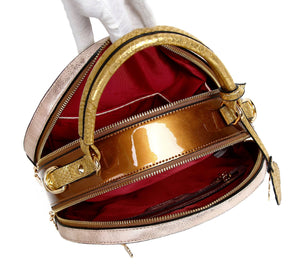 Princess Mera Vintage Sphere Double Zipper gold -alwaysspecialgifts.com