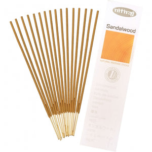 sandalwood natural incense 16 sticks - alwaysspecialgifts.com