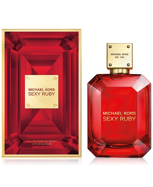 sexy ruby michael kors eau de parfum 3.4oz for womens - alwaysspecialgifts.com