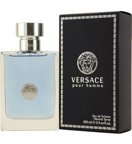 Versace Pour Homme Eau de Toilette 3.4oz 100ml For Men-alwaysspecialgifts.com