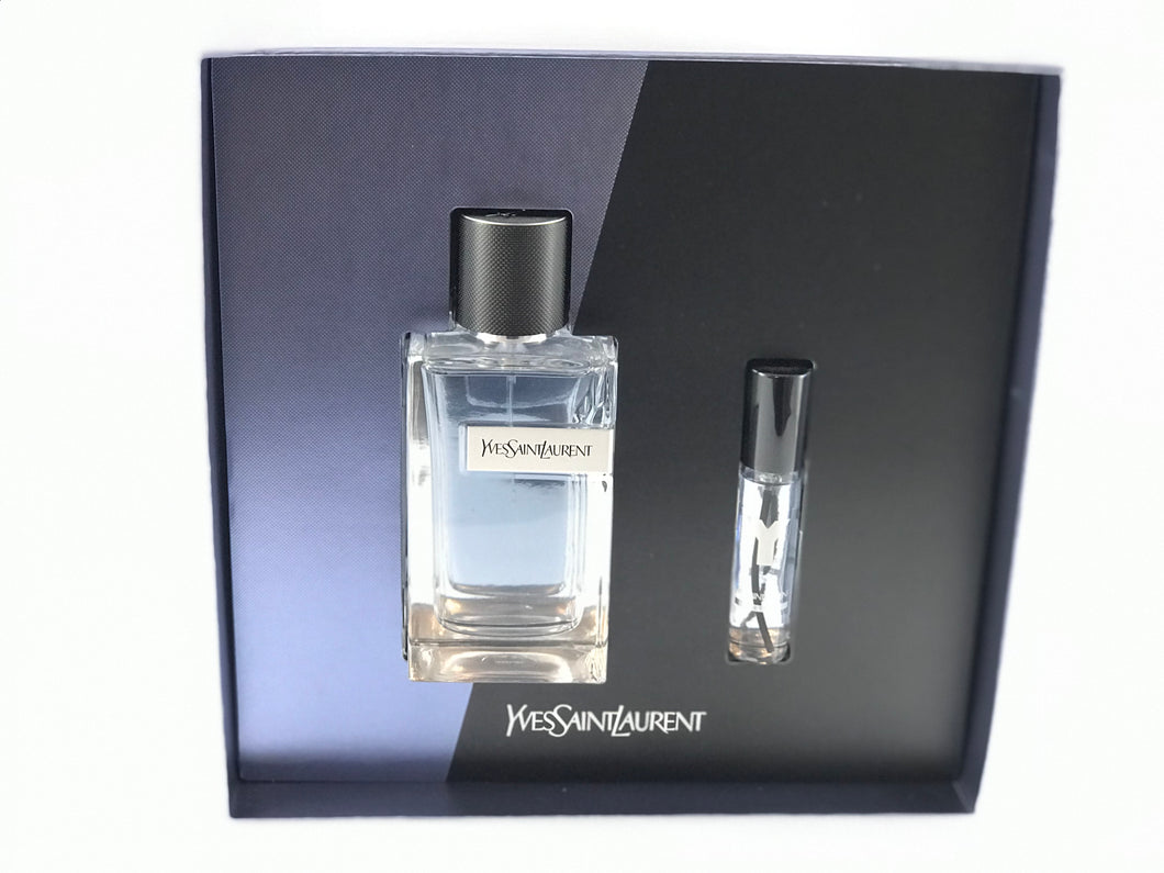 Y yvest saint laurent gift set 2pcs eau de toilette 3.3 oz 100ml -alwaysspecialgifts.com