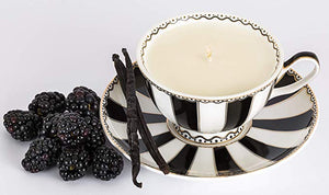 black raspberry and vanilla bean fragrance soy candle -alwaysspecialgifts.com