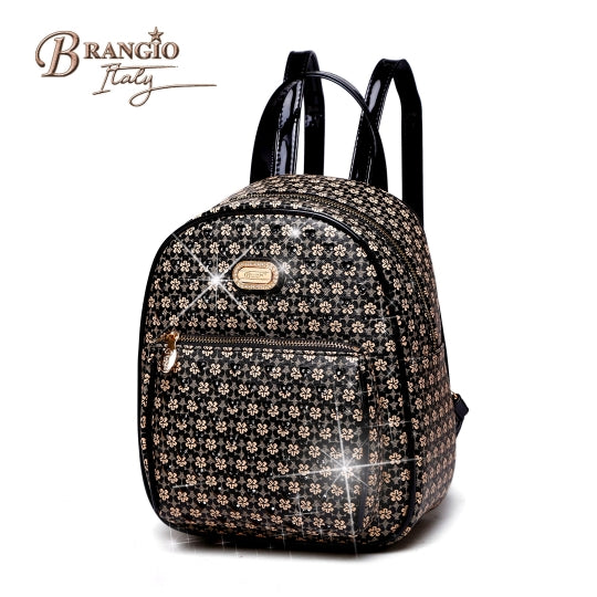 brangio italy twinkle skies black backpack -alwaysspecialgifts.com