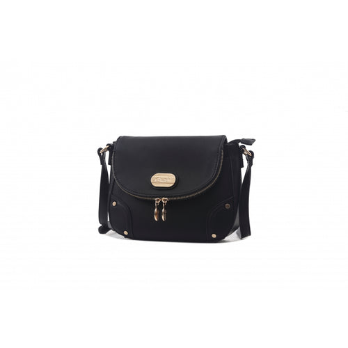 brangio italy  rough diamond crossbody bag black-alwaysspecialgifts.com