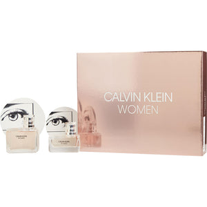 Calvin Klein Women  set 2 pcs Edp 3.4oz , edp 1oz,  for women's