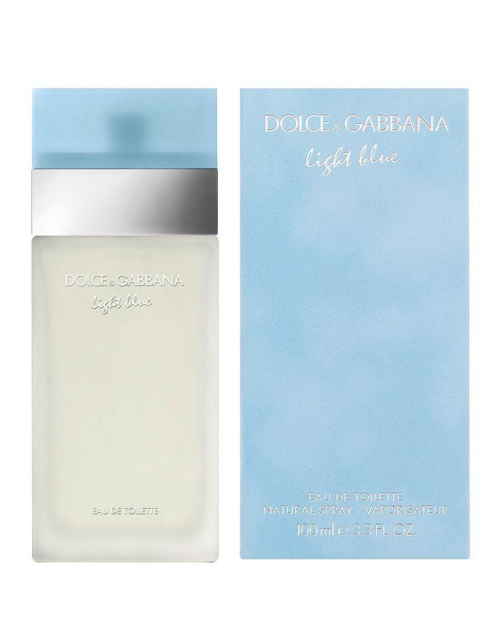 dolce & gabbana light blue eau de toilette 3.3oz 100ml for woman  -alwaysspecialgifts.com