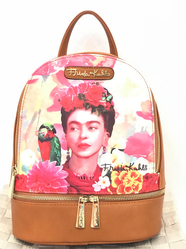 Rosas De Amor (Tan) Frida Kahlo Back Pack