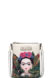 frida kahlo crossbody cartooon series - alwaysspecialgifts.com