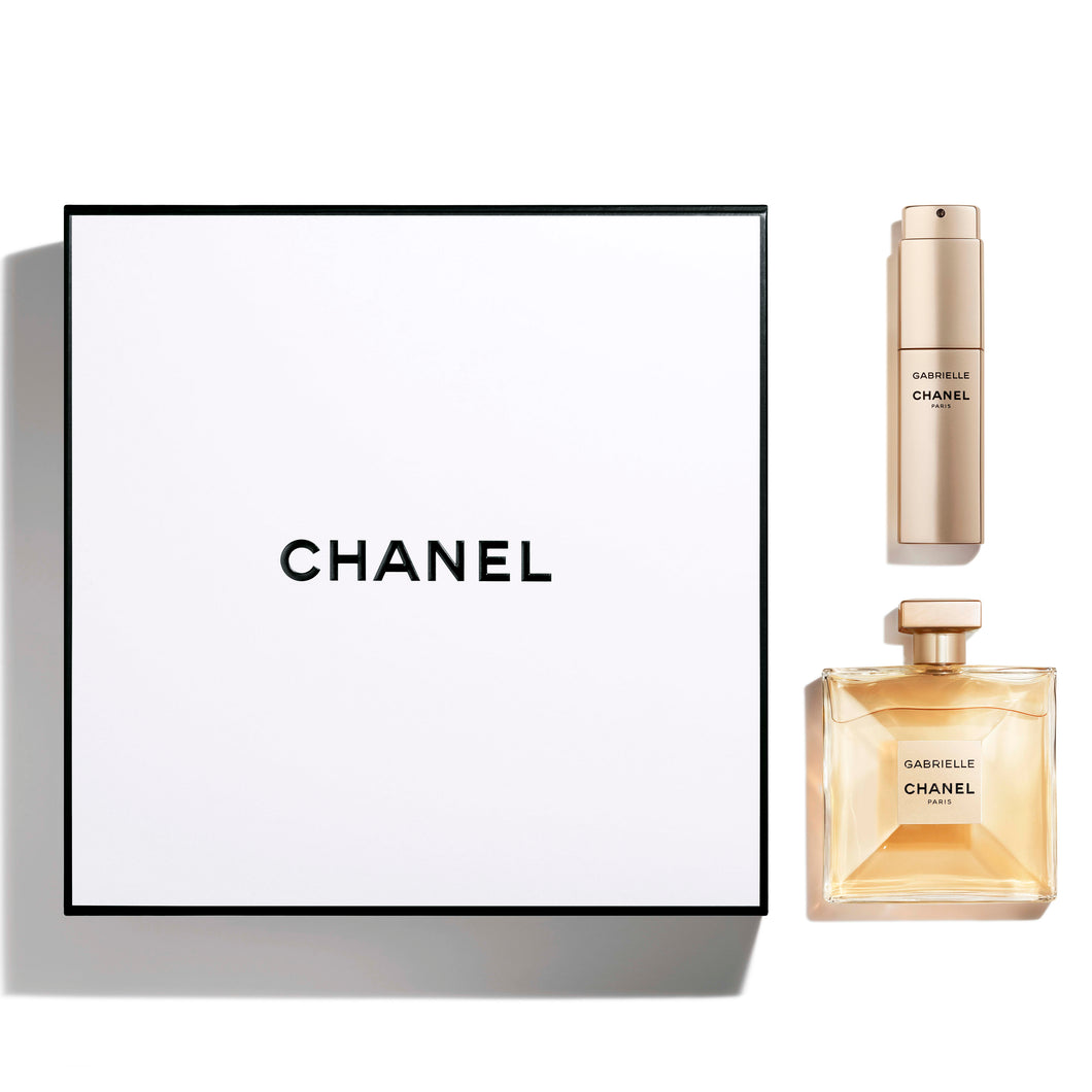 gabrielle chanel twist gift set eau de parfum 3.4oz , eau de parfum spray 0.7oz for womens - alwaysspecialgifts.com