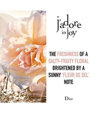 Load image into Gallery viewer, J'adore in Joy Eau de Parfum 3.4oz 100ml -alwaysspecialgifts.com