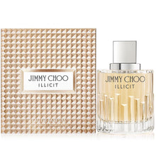 Load image into Gallery viewer, jimmy choo illicit eau de parfum 3.3oz 100ml bottle logo -alwaysspecialgifts.com