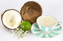 Load image into Gallery viewer, tea soy candle lime coconut majestea & co -alwaysspecialgifts.com