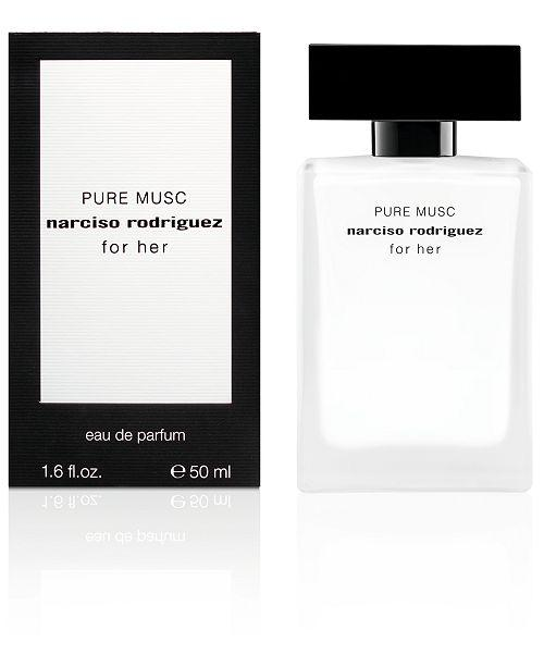 pure musc narciso rodriguez for her eau de parfum 1.6oz 50ml -alwaysspecialgifts.com