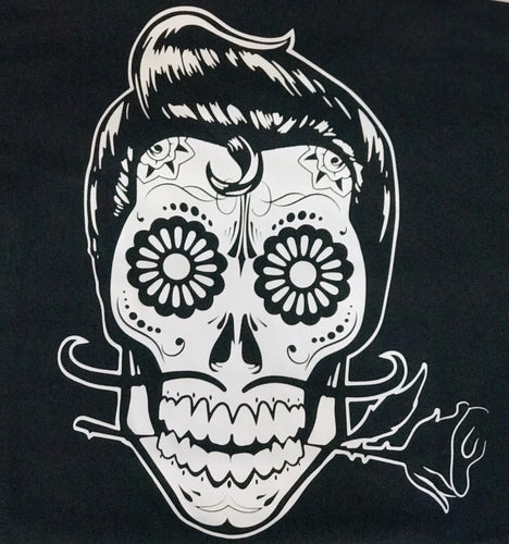 rockabilly sugar skull t-shirt for man reg-alwaysspecialgifts.com