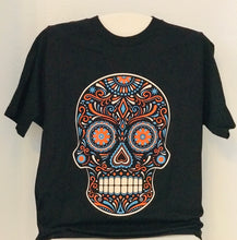 Load image into Gallery viewer, sugar skull dia de los muertos t-shirt 3c -alwaysspecialgifts.com