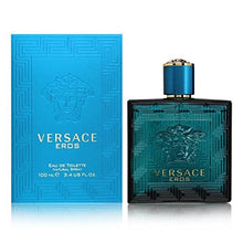 Load image into Gallery viewer, versace eros eau de toilette 3.4oz 100ml-alwaysspecialgifts.com