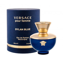 Load image into Gallery viewer, Versace Pour Femme Dylan Blue 3.4 Eau de Parfum 100ml