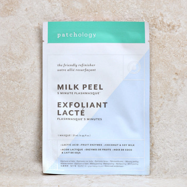 PATCHOLOGY FlashMasque Milk Peel Sheet Mask - 4 pcs