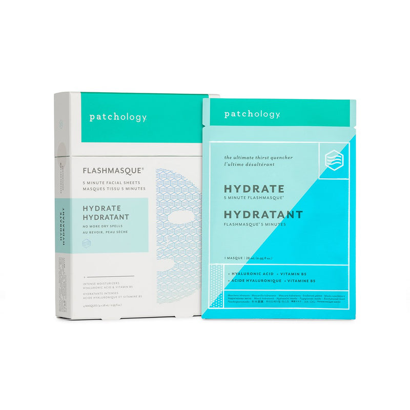 PATCHOLOGY FlashMasque Hydrate 5 Minute Sheet Mask - 4 pcs