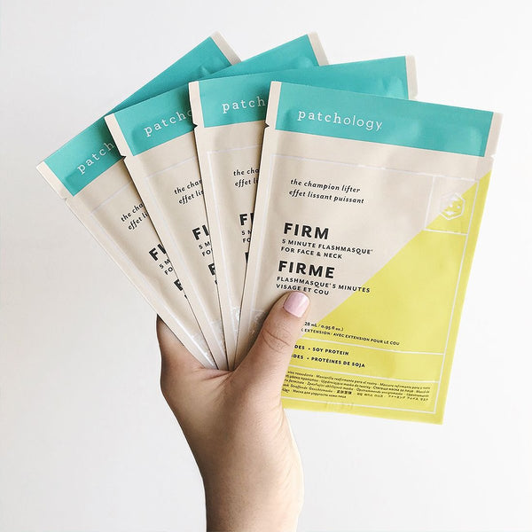 PATCHOLOGY FlashMasque Firm Sheet Mask- 4 pcs