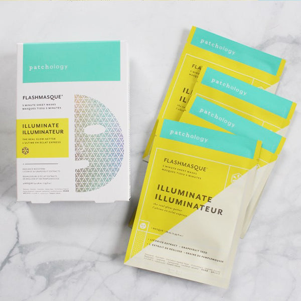 PATCHOLOGY FlashMasque Illuminate Sheet Mask - 4 pcs