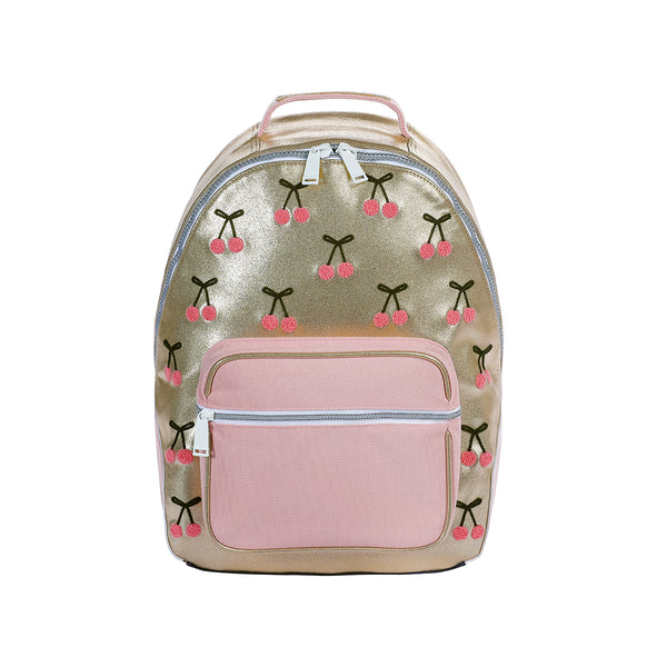 JEUNE PREMIER BACKPACK BOBBIE CHERRY POMPON