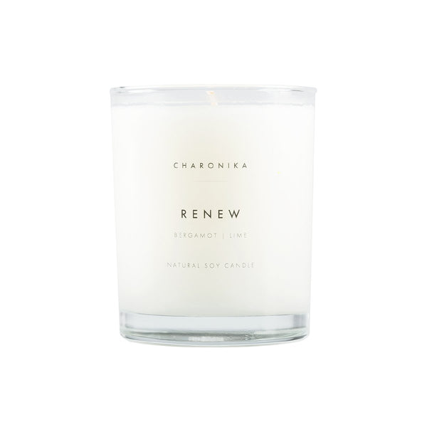 Charonika Natural Soy Candle RENEW