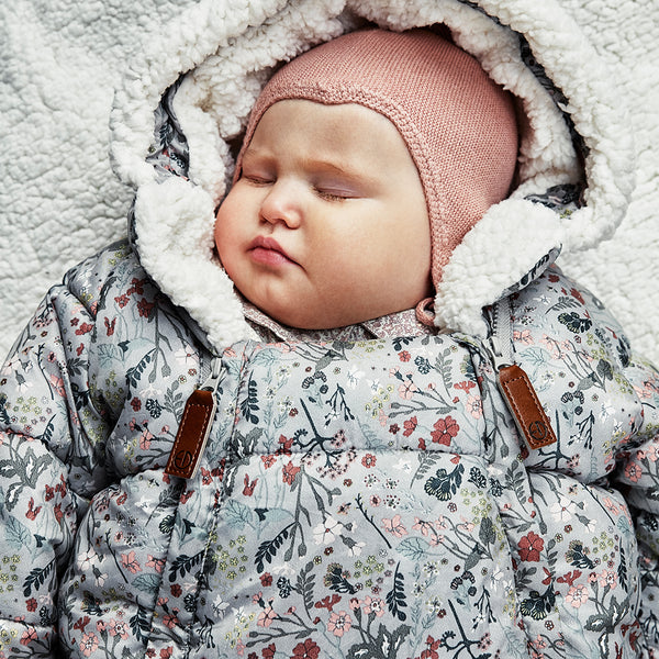ELODIE DETAILS VINTAGE FLOWER BABY OVERALL