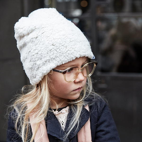 ELODIE DETAILS SHEARLING WINTER BEANIE
