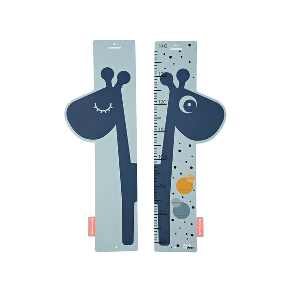 DONE BY DEER HEIGHT MEASURER RAFFI, BLUE