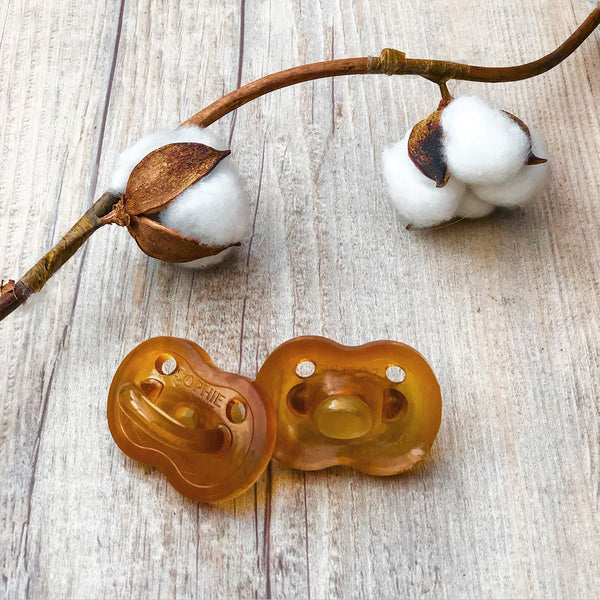 SOPHIE LA GIRAFE SO'PURE NATURAL RUBBER PACIFIER