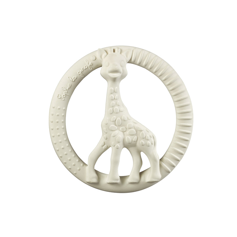 SOPHIE LA GIRAFE SO'PURE CIRCLE TEETHER, WHITE