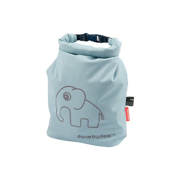 DONE BY DEER ROLL-TOP STORAGE BAG ELPHEE, BLUE