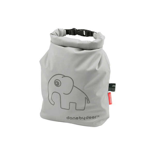 DONE BY DEER ROLL-TOP STORAGE BAG ELPHEE, GREY