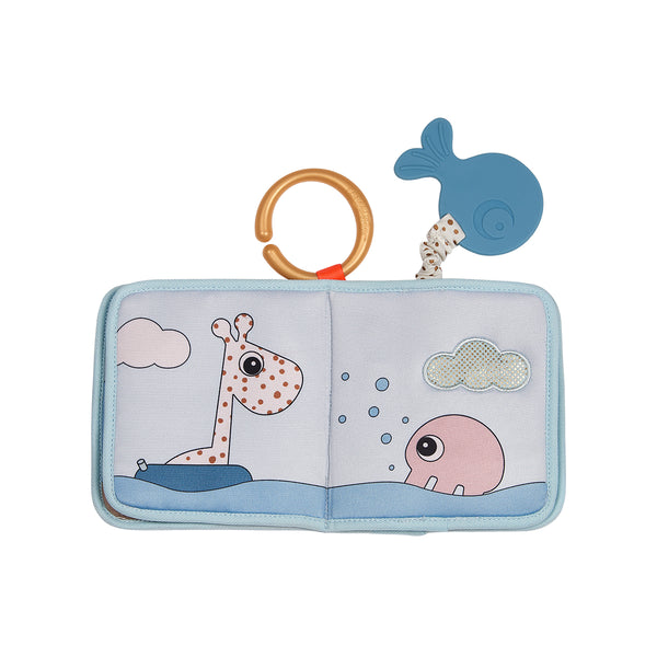 DONE BY DEER SEA FRIENDS MULTI COLOR BATH TIME BOOK