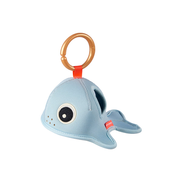 DONE BY DEER SEA FRIENDS BATH TIME ACTIVITY TOY, BLUE