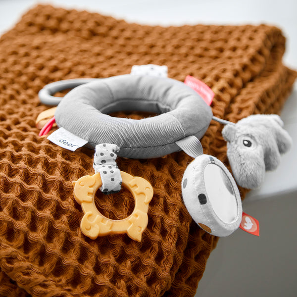 DONE BY DEER ACTIVITY RATTLE DEER FRIENDS, GREY