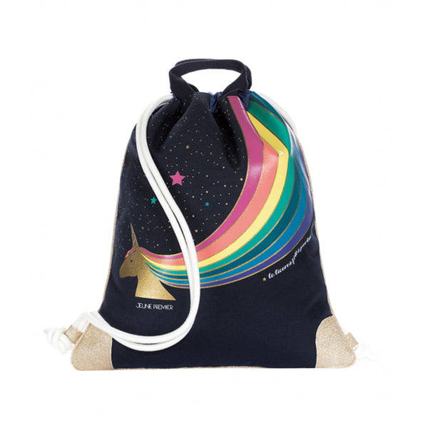 JEUNE PREMIER CITY BAG UNICORN GOLD